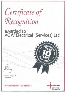 An approved NICEIC contractor over 10 years.